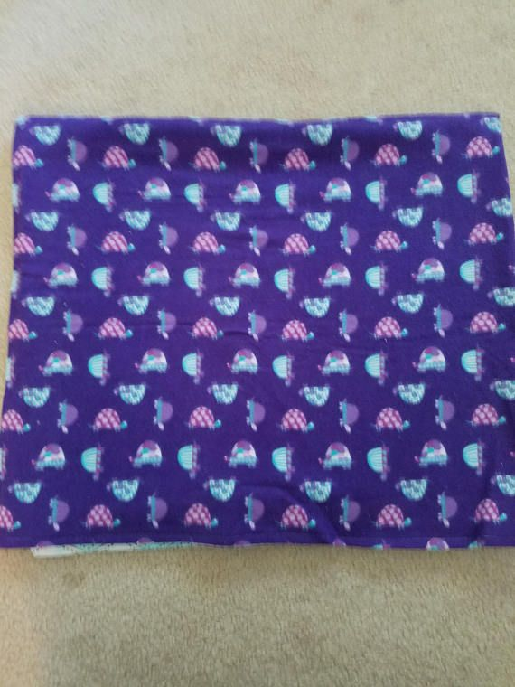 Check out this item in my Etsy shop https://www.etsy.com/listing/522481670/purple-turtle-blanket