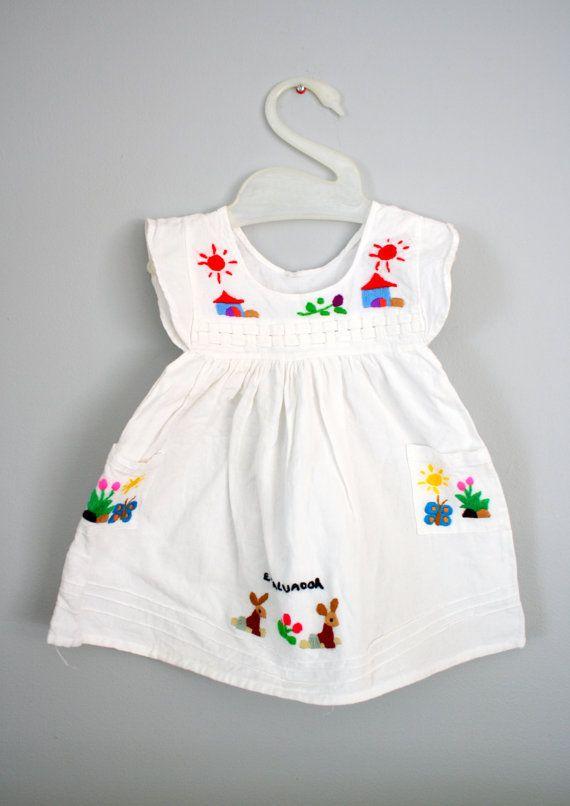 !: Fashion Dresses, Vintage El, Cute Dresses, El Salvador, Kids Fashion, Toddlers Dresses, Baby Girls, Baby Dresses, Mexicans Dresses