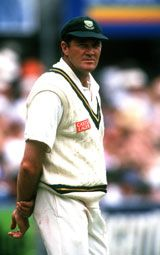 Pat Symcox was an influential figure in the 1997-98 Pakistan encounters © Getty Images