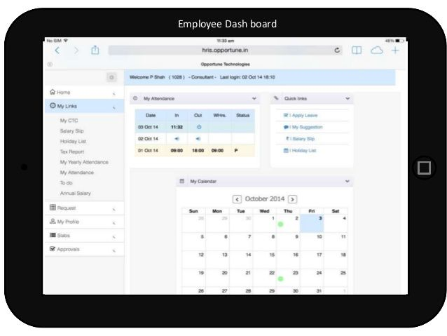 Opportune offers cloud based time & attendance management system software in Mumbai, India. These software keeps the track of employee attendance records. http://www.opportune.in/opt-hrms-software/time-and-attendance-management-system/