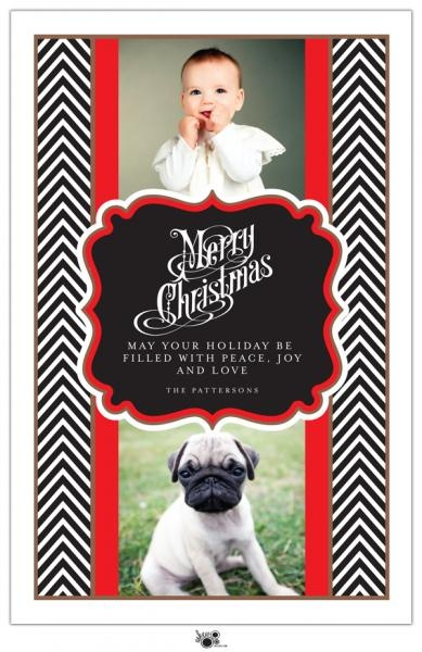 Christmas Card layout