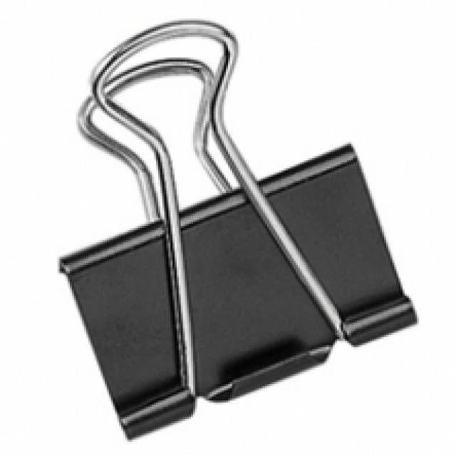 Binder csipesz vagy iratcsipesz 19 mm méretben. A binder csipesz rozsdamentes acélból készül, rugalmasságát nagyon hosszú ideig megörzi. A binder csipesz nyom nélkül eltávolítható majd újra felhasználható. Az iratcsipesz felhasználási területe szinte...