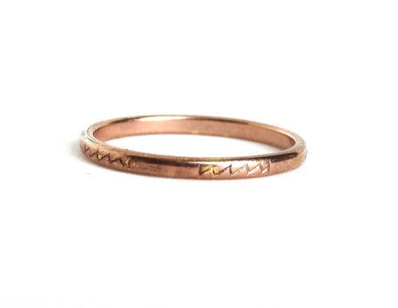 Mens Copper Wedding Rings 002 - Mens Copper Wedding Rings