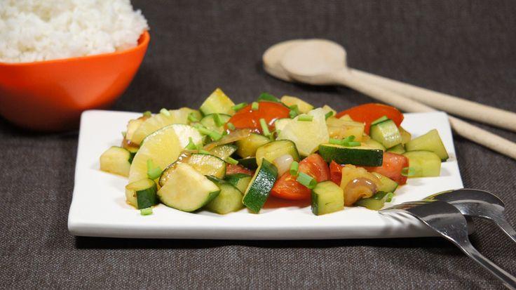 Een Thais gerecht met minder zout, heerlijk als een snelle en makkelijke maaltijd, maar dan natriumarm.