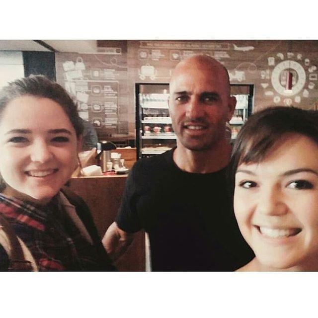@kellyslater spotted at vida e caffè OR Tambo. Obrigado for the pic ladies @lean3viljoen & @nadiav96. #vidaecaffe #kellyslater