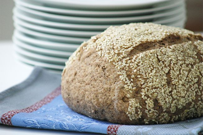 Comece bem o dia com este pão de miolo macio e crostinha crocante.