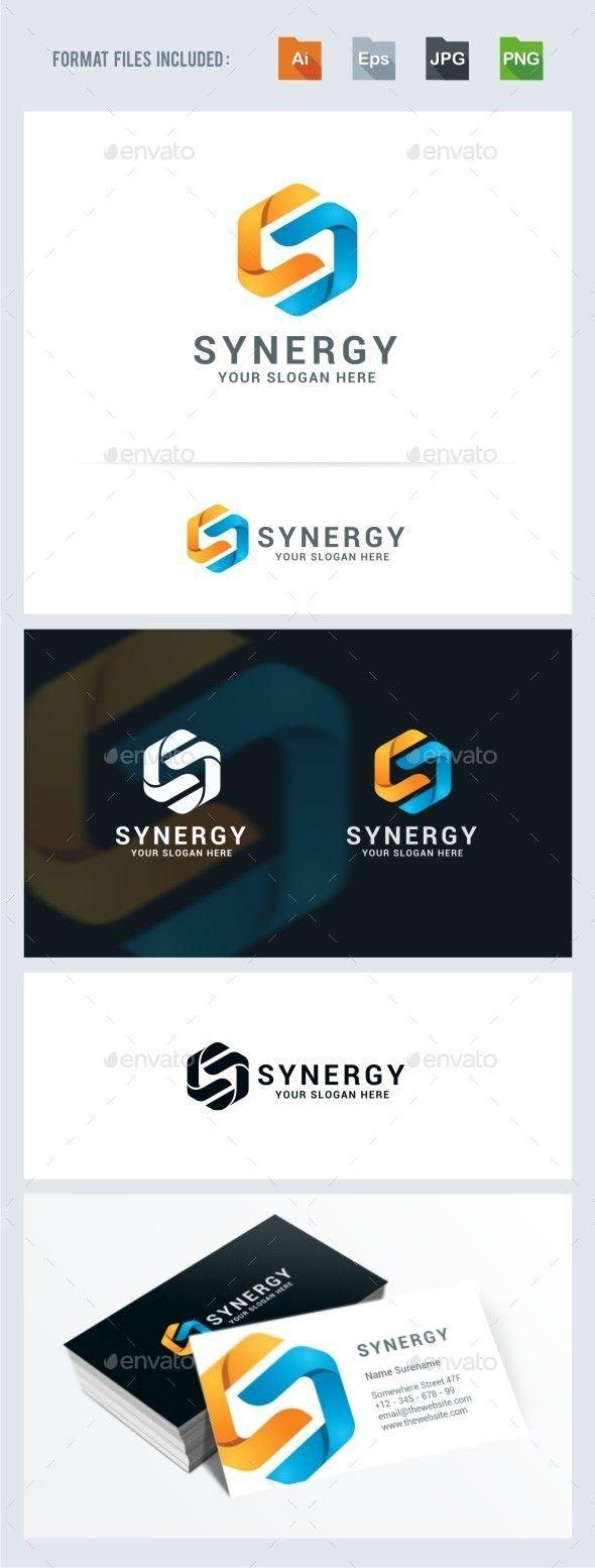 Synergy - Letter S   Logo Design Template Vector #logotype Download it here: http://graphicriver.net/item/synergy-letter-s-logo-template/11721012?s_rank=749?ref=nexion
