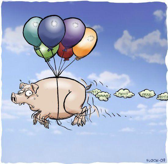Le cochon volant