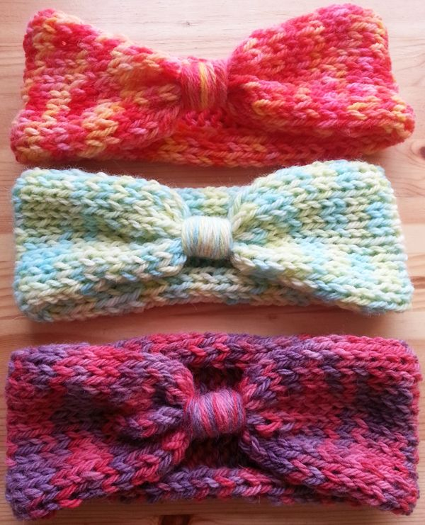 Hand dyed headbands ready to go in my new online store!