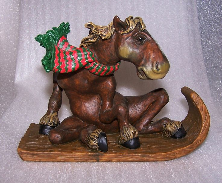montana silversmith pasture pals elmer horse on sled