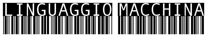 LINGUAGGIO MACCHINA per #NBTW - il 13 dicembre 2013