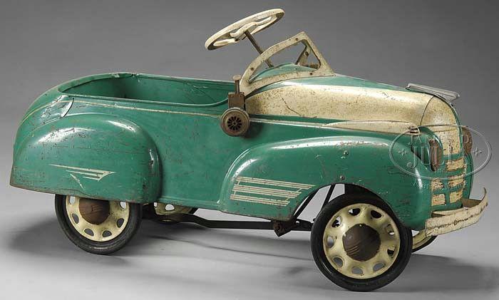 Pedal Car= a dandy!