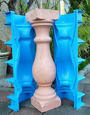 Use the mold to make all your balusrade, baluster molds, baluster mould, mold for concrete baluster