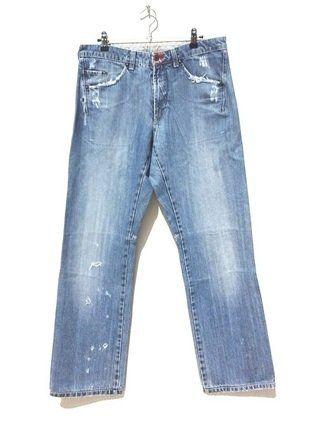 À vendre sur #vintedfrance ! http://www.vinted.fr/mode-hommes/jeans/28741735-jeans-homme-marithe-et-francois-girbaud-carrot-blue-used-taille-42