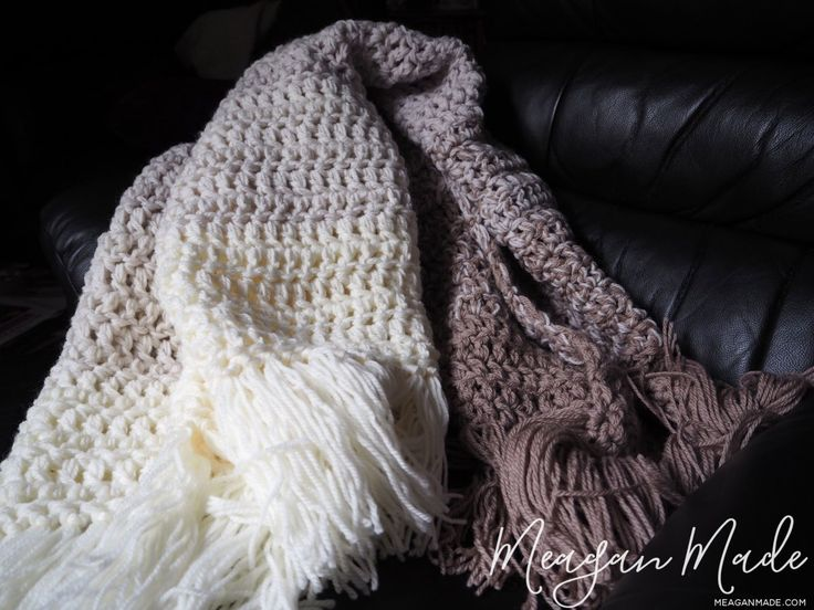 What a great job by meaganmade.com on our Nature's Neutral Crochet Throw!