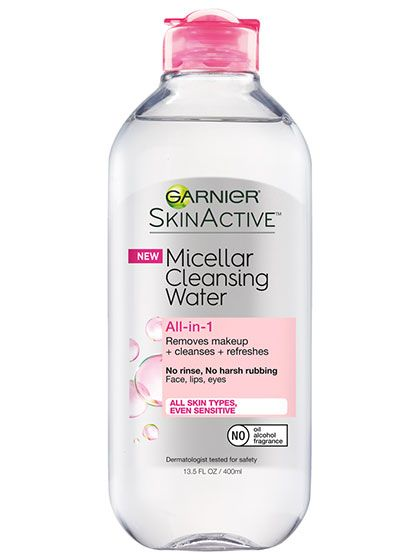 Garnier Micellar Water - Big Thumbs Up! Love this stuff!! Just refreshing and cleansing. Gets makeup off easily and feels very good.