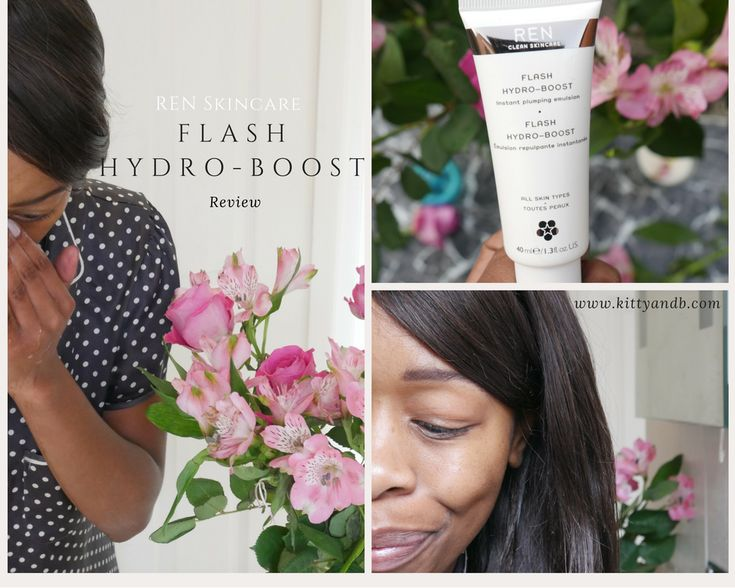 REN Skincare Hydro-Boost Review - Kitty and B  #FlashHydrate www.kittyandb.com Check out the range: http://tidd.ly/6af8fa69
