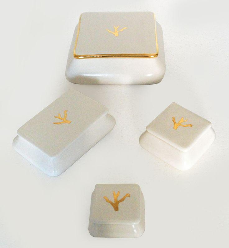 scatolina | Oggettistica | #OrodiVietri | oro | made in Italy