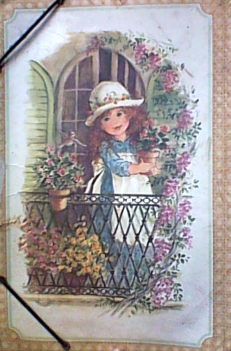 Pasta escolar 1ª série primária, anos 80.  Julie Pop