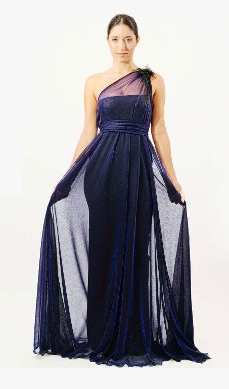Vestido de noche inspirado vintage