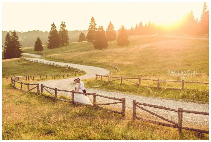 #wedding #forrest #sunset