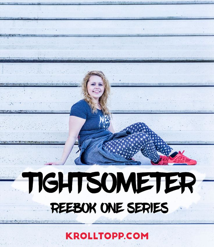 Tights review - Reebok One tights - Crossfit outfit - treningsklær