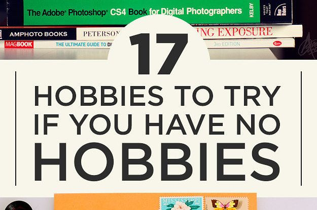 I want to do all the things! But seriously, this is a great list of #hobbies.