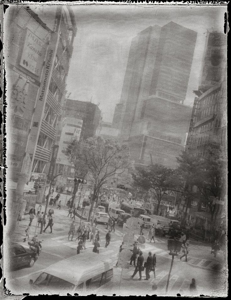 https://flic.kr/p/qLtqT1 | Shibuya, Tokyo | Polaroid 190, Fuji FP-3000B