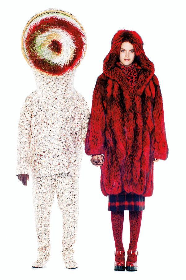 Where the Wild Things Are - Nick Cave Fashion Editorial // Harper's BAZAAR