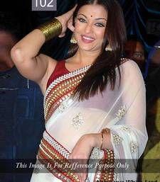 Buy Bollywood Replica Aishwariya Rai Chiffon saree aishwarya-rai-saree online