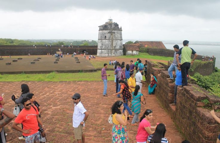Agoda fort in Goa. visit: http://www.chaiacupoflife.com/family-holiday-to-goa #goa #fort