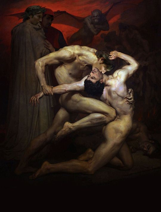 william bouguereau inferno