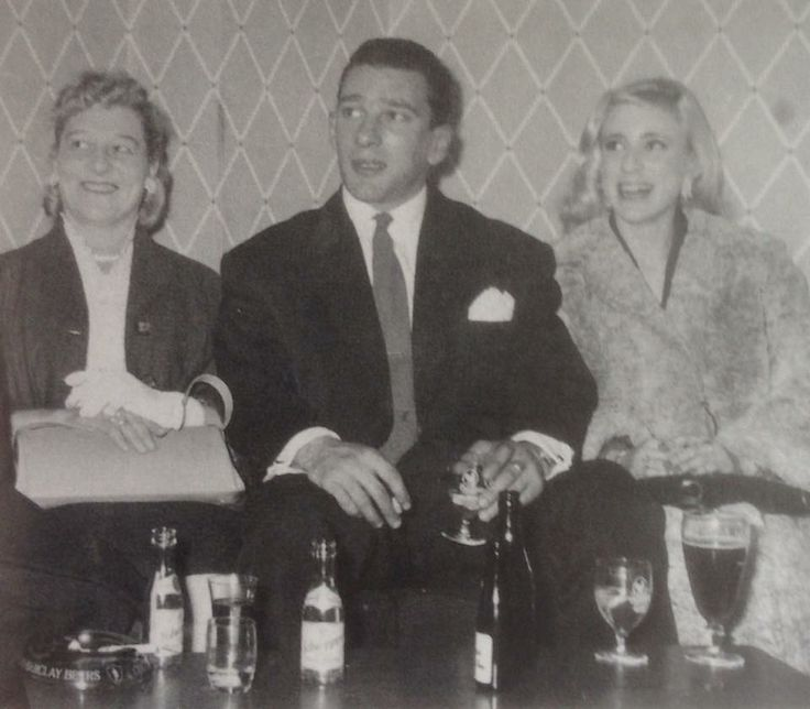 Reggie with his mum and cousin