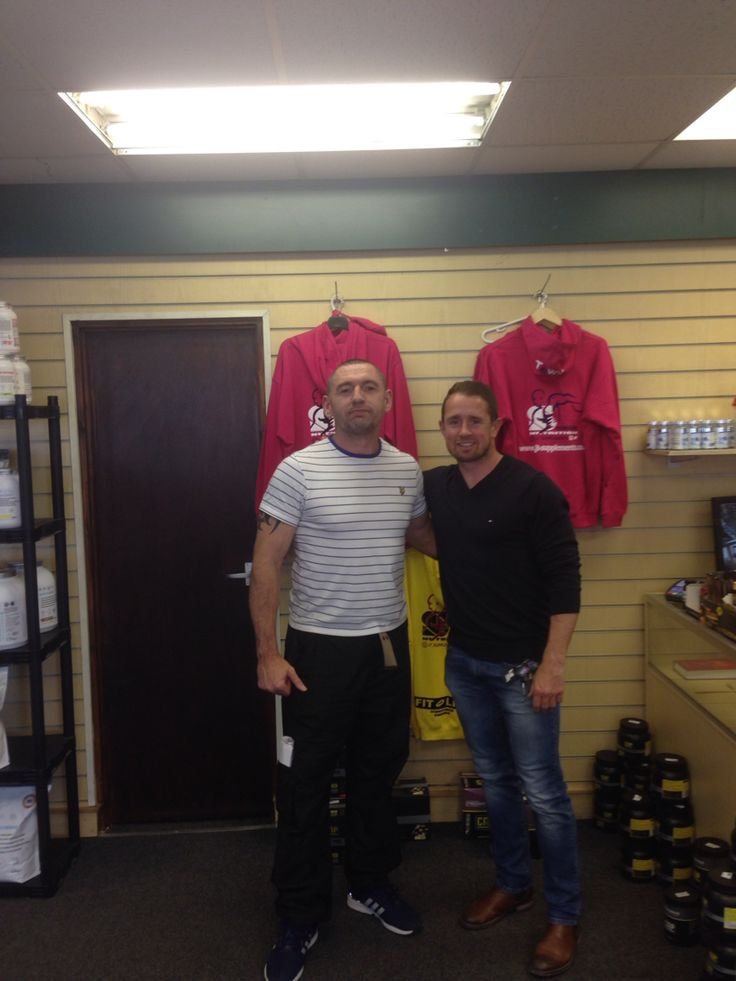 Big thank you to Shane Williams for opening the new store