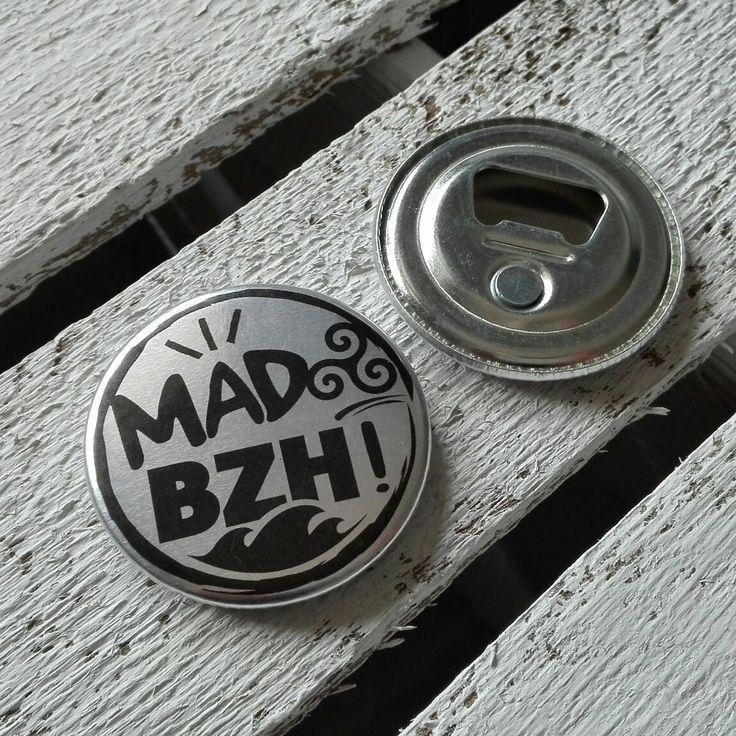 Magnet décapsuleur bientôt dispo sur le shop www.madbzh.com #madbzh #magnet #apero #bzh #breizh #bretagne #morbihan #shop