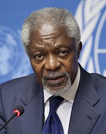 Kofi Annan 2012.  7th Secretary-General of the United Nations In office 1…