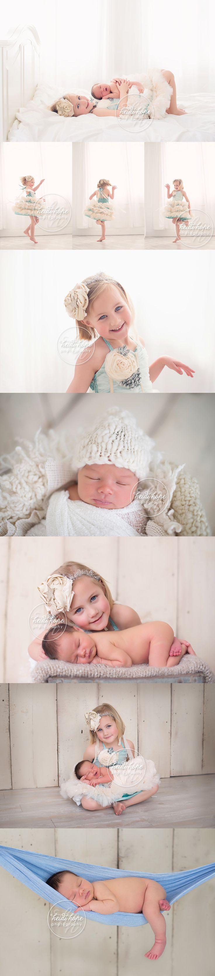 #Newborn baby B and his big sister. #sibling #classicsiblingsession
