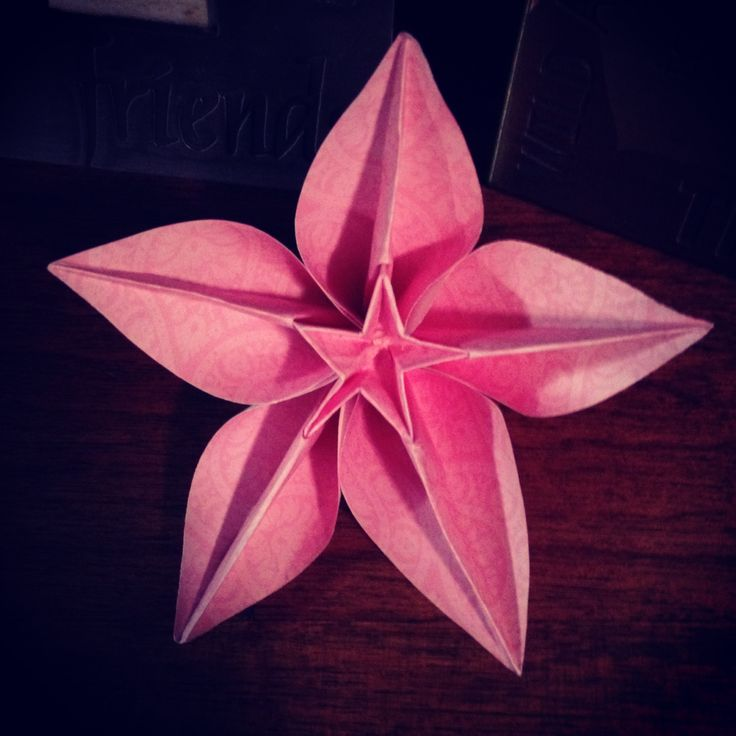90 Origami Ideas Carambola Origami Flower Instructions Resource