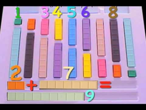 Addition Subtraction Kit, counting Blocks #2, Mortensen Math, Kids Montessori K-12 Pre-school video - YouTube