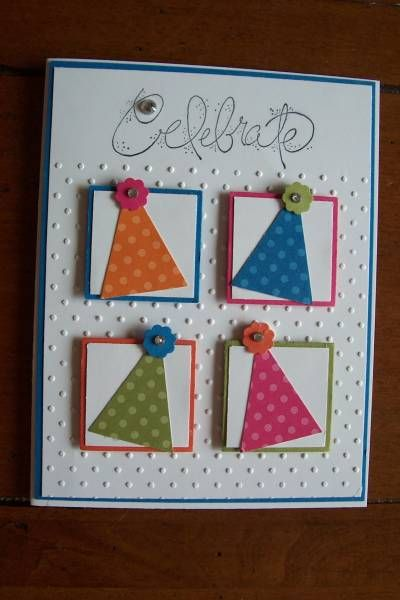 Birthday Card by Jill stamps - Cards and Paper Crafts at Splitcoaststampers