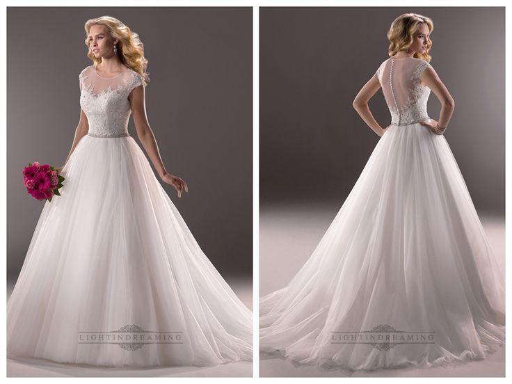 Cap Sleeves Sheer Neckline Sequin Ball Gown Wedding Dresses with Beaded   Belt  #wedding #dresses #dress #lightindream #lightindreaming #wed #clothing   #gown #weddingdresses #dressesonline #dressonline #bride  http://www.ckdress.com/cap-sleeves-sheer-neckline-sequin-ball-gown-  wedding-dresses-with-beaded-belt-p-161.html