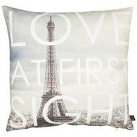 "Parisian Love Pillow Cover – 20"" x 20"""