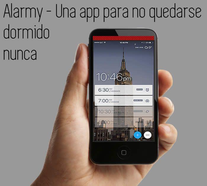 Una App para no quedarse dormido nunca. #apps