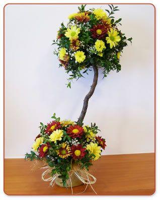 17 mejores im genes sobre arreglos con flores y frutas en - Arreglos florales con flores secas ...