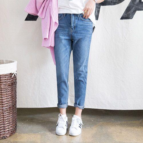Womens Clothing Store [VANILLAMINT] no.720 Baggy jeans / Size : S,M,L / Price : 47.34 USD #dailyllook #dailyfashion #fashionitem #bottom #pants #jeans #ootd #vanillamint http://en.vanillamint.net/