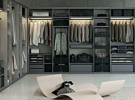 gray galore. This is my style.. A bit smaller perhaps , but I love the sleekness -it just inspires being orderly!