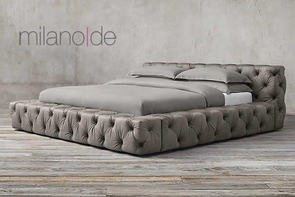 """#Κρεβάτι Tufa από τη Milanode, σε ένα σχέδιο που """"παντρεύει"""" κομψά & ιδιαίτερα το μπαρόκ με το #μοντέρνο. https://www.milanode.gr/product/gr/2671/krebati_tufa.html"""