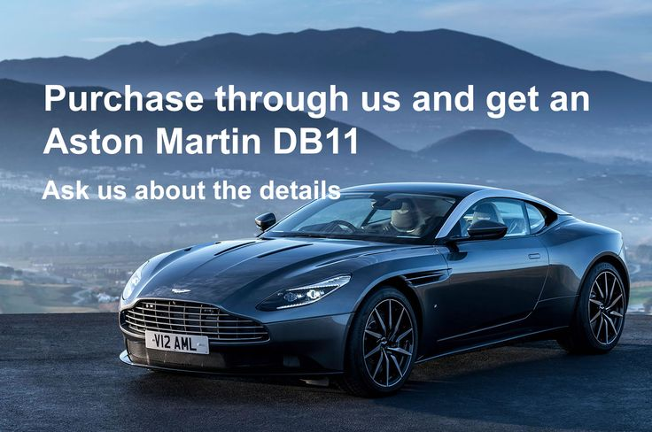 We give away cars along with the apartments in the Aston Martin Residences tower in Miami
