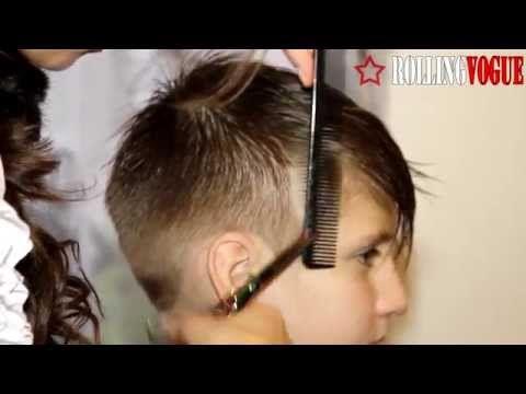 Детские модные стрижки и прически для мальчиков - YouTube