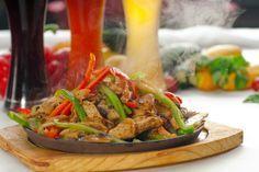 Slow Cooker Steak Fajitas (Pork or Chicken) - Make them at home!  YUM!  www.GetCrocked.com